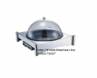 Round stainless steel dry electric hot pot rack 121382
