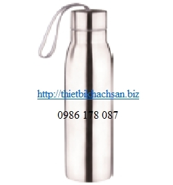Stainless steel oblique straight frozen water bottle JM-205A 123973