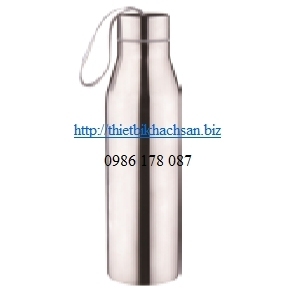 Stainless steel oblique straight water bottle JM-235A 123975