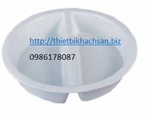 Round ceramic food bowl 126562,126568