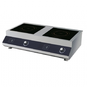 Induction hob 5+5 kW, tabletop, 2 plates each 300x300 mm 2145XN