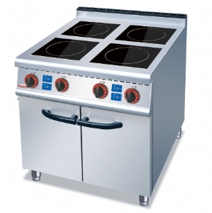 Four-head induction cooker with cabinet ZH-IC-4