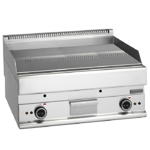 electric griddle, tabletop, smooth chromed plate 6570FTECR