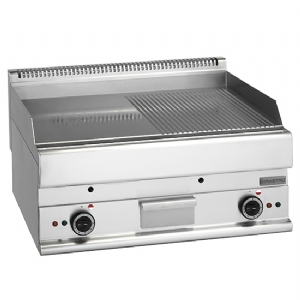 electric griddle, tabletop, smooth and grooved plate 6570FTRE