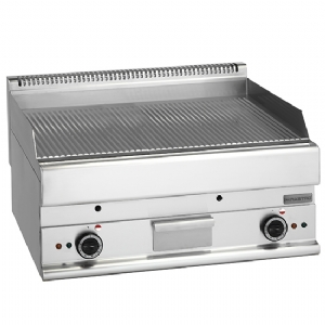 electric griddle, tabletop, grooved plate 6570FTRRE