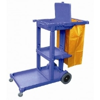 Cleaning Multi-functional Janitor Cart Trolley AF08160A