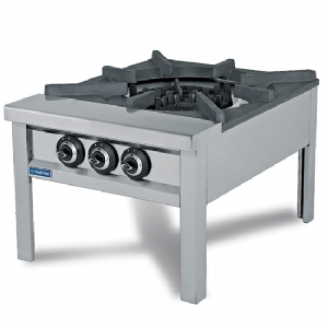 Gas stock pot cooker with 4 ring bruner 32 Kw (LPG) AHB0003