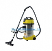 30L WET & DRY VACUUM CLEANER (S.S. tank, luxury base) (220V 1000W) with Italy motor CH30H