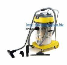 WET/DRY VACUUM CLEANERS(60L 2000W)(220V)(S.S. tank)with Italy motor CH602