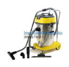WET/DRY VACUUM CLEANERS(60L 3000W)(220V)(S.S. tank)with Italy motor CH603