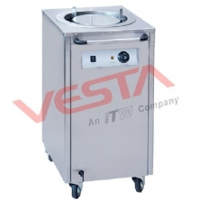 Electric Plate Warmer Cart(1-Holder)