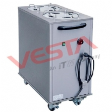 Electric Plate Warmer Cart(2-Holder)