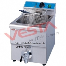 Electric 1-Tank Fryer 1-basket,counter-top EF-12L