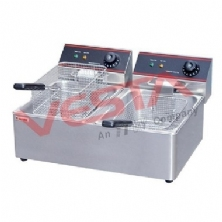Electric 2-Tank Fryer EF-8L-2