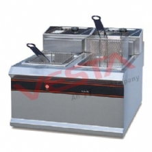 Double Cylinder Double Sieve Electric Fryer EF-904