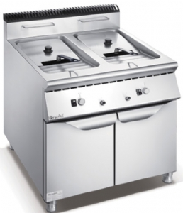 900 Series Gas 2-Tank Fryer With Cabinet F9080GFR