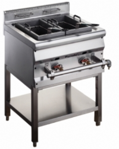 600 Asian Gas Fryer With Stand FAGFR-0607S