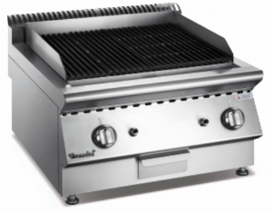 X Series Gas Lava Rock Grill FCXGLG-0707