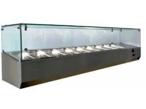 1.2m Static Cooling Countertop Display Showcase FRCR-1-1