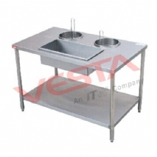 Manual Wrapping Powder Table  GU-1