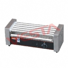 Hot Dog 5-roller Grill Cooker Machine