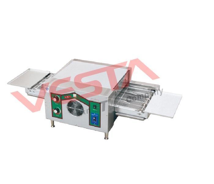 máy nướng pizza băng chuyền để bàn dùng điện