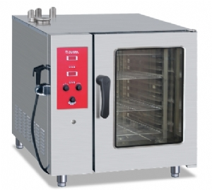 Electronic version of gas ten-layer universal steaming oven JO-G-E101