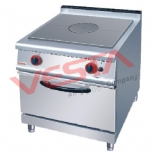 French Hot-Plate Cooker With Gas Oven JZH-RT