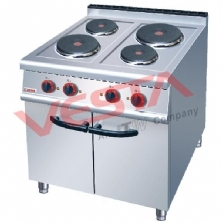 Electric 4-Plate Cooker With Cabinet JZH-TE-4
