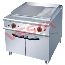 Electric Griddle (2/3 Flat&1/3 Grooved)With Cabinet JZH-TG