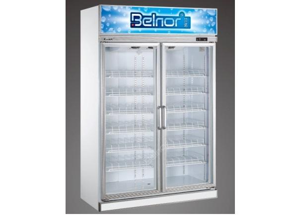 Tủ lạnh đứng công nghiệp 2 cánh kính