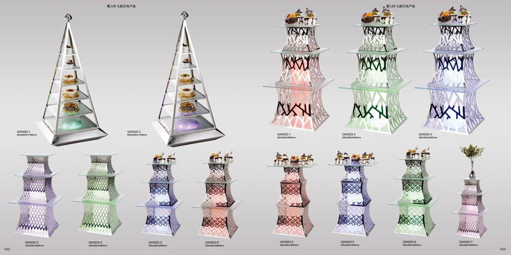Chân kê tháp Inox QXA022-023
