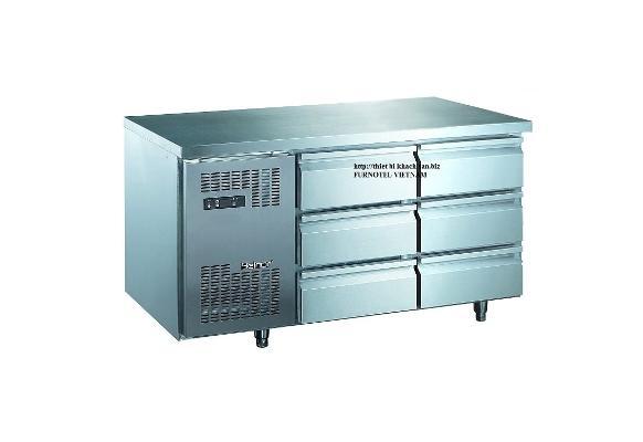 Tủ lạnh bàn 6 ngăn kéo R246