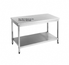 SS304 Work Bench With Under Shelf (square leg)