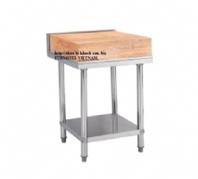 SS304 Bench With Wooden/Plastic Cutting Board