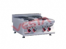 Electric 4-Plate Cooker(Counter-top)