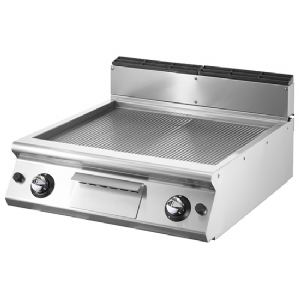 Gas griddle, top version, ribbed plate VS7080FTRRGVT