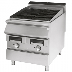 Gas grill, cooking zone in cast iron, meat/fish VS7080GRACQG