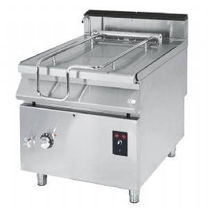 Gas tilting bratt pan, capacity 120 litres, stainless steel well, motorized VS90120BRGIM