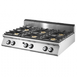 Gas range, top version, 6 burners  VS90120PCGT