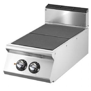 Electric cooking hop with 2 tilting plates each 4 kW VS9040PCERT