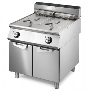 Electric fryer, capacity 2x 15 litres VS9080FRE15