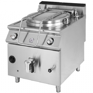 Electric boiling pan, indirect heating, capacity 150 litres VS9080PEI150