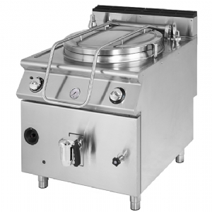 Gas boiling pan, indirect heating, capacity 150 litres VS9080PGI150