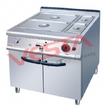 Gas Bain Marie With Cabinet ZH-RB