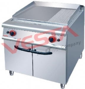 900 wide gas 1/3 pot furnace with cabinet ZH-RG