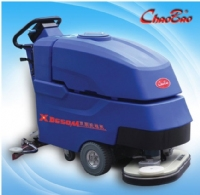 Xe đánh sàn  Dual-brush ground cleaning machine