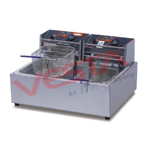 Bể dầu, bếp chiên nhúng dùng điện đôi EF-83