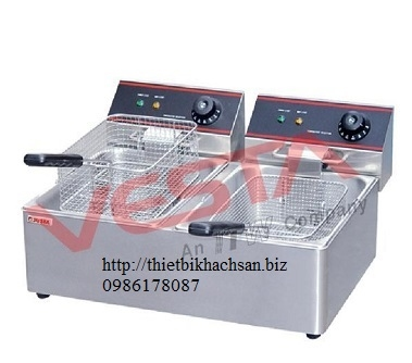 Electric 2-Tank Fryer EF-11L-2