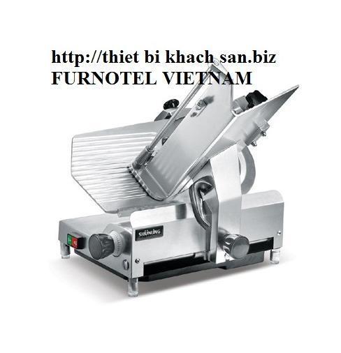 Máy thái lát bán tự động F122